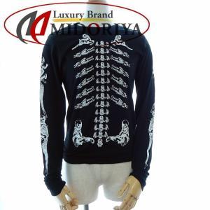 クロムハーツ CHROME HEARTS ロング Tシャツ サイズXS ブラック 2612-304-2691 /042709 ロンT メンズ【中古】|phasemidoriya78