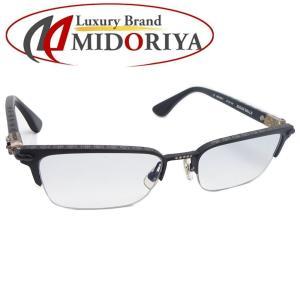 クロムハーツ CHROME HEARTS アイウェア シュガーウォール メガネ 眼鏡フレーム ブラック /043244【中古】|phasemidoriya78