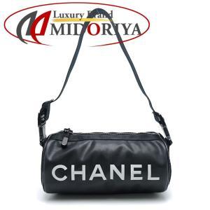 シャネル CHANEL ショルダーバッグ ロール スポーツライン ラバー 黒 A24984 /053302 筒型 【中古】|phasemidoriya78