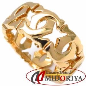 カルティエ CARTIER アントルラセリング 750YG #51 10.5号 指輪/097612【中古】 phasemidoriya78