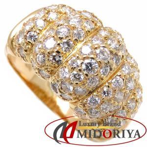 ヴァンクリーフ&アーペル Van Cleef&Arpels ダイヤモンドリング 18KTYG 13号 指輪/097843【中古】|phasemidoriya78