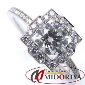ハリーウィンストン HARRY WINSTON ベルバイハリーウィンストンリング ダイヤモンド0.50ct Pt950 9号 指輪/098437【中古】|phasemidoriya78