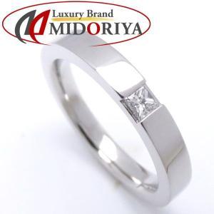 ハリーウィンストン HARRY WINSTON マリッジリング ダイヤモンド1P Pt950 11号 WBDPPCBZS10-062 指輪/098580【中古】|phasemidoriya78