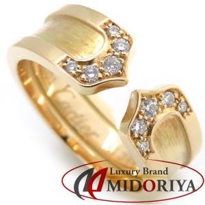 カルティエ Cartier C2リング ダイヤモンド 750YG #50 10号 B4044000 指輪/098757【中古】|phasemidoriya78