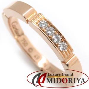 カルティエ Cartier マイヨンパンテールリング ダイヤモンド4P 750PG #49 9号 指輪/098763【中古】|phasemidoriya78