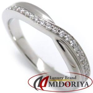 ハリーウィンストン HARRY WINSTON ワンロウパヴェバンドリング ダイヤモンド Pt950 8.5号 指輪/098768【中古】|phasemidoriya78