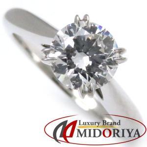 ハリーウィンストン HARRY WINSTON ソリティアリング ダイヤモンド0.77ct Pt950 7.5号 一粒ダイヤモンド 指輪/098770【中古】|phasemidoriya78