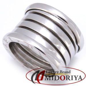 ブルガリ BVLGARI B-ZERO1 ビーゼロワンリング 750WG #49 8号 5バンド L 指輪/098862【中古】|phasemidoriya78