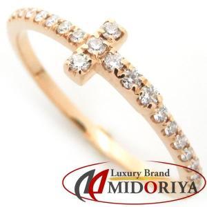 ティファニー TIFFANY Tワイヤーリング ダイヤモンド 750PG 10号 フルエタニティ 指輪/098869【中古】|phasemidoriya78