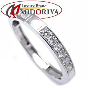 ハリーウィンストン HARRY WINSTON トラフィック リング ダイヤモンド8P Pt950 14.5号 指輪/099059【中古】|phasemidoriya78