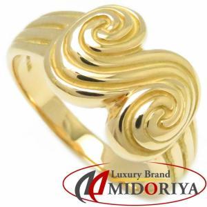 ティファニー Tiffany & Co. リング 750YG 17号 イエローゴールド 指輪/099512【中古】 phasemidoriya78