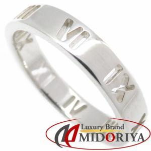 ティファニー Tiffany & Co. アトラス リング SV925 11号 シルバー 指輪/099533【中古】|phasemidoriya78