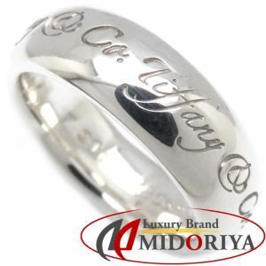 ティファニー Tiffany & Co. ノーツ リング SV925 9号 シルバー 指輪/099534【中古】|phasemidoriya78