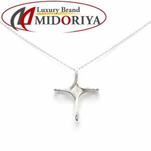 ティファニー Tiffany & Co. オープンクロスペンダント ネックレス SV925 シルバー/099536【中古】|phasemidoriya78