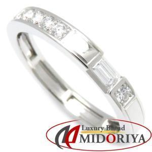 ハリーウィンストン HARRY WINSTON トラフィック リング ダイヤモンド Pt950 プラチナ 10.5号 指輪 /099630 【中古】|phasemidoriya78