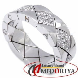 シャネル CHANEL マトラッセ リング ダイヤモンド K18WG 11号 750ホワイトゴールド 指輪/099712【中古】|phasemidoriya78