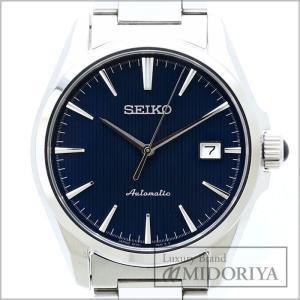 ◆セイコー SEIKO◆ メカニカル 6R15-03S0 メンズ SS ダークブルー/34679  【中古】 【クリーニング済】 腕時計|phasemidoriya78
