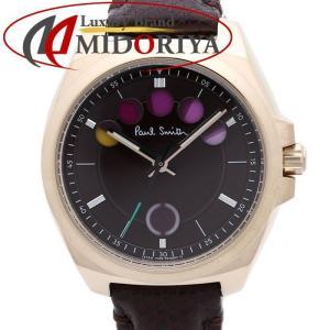 ポールスミス PAUL SMITH フェイブアイズ ミニ ボルドー レディース 腕時計 /34943 【中古】|phasemidoriya78