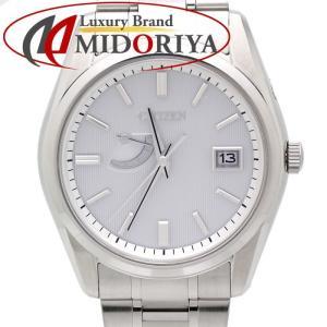 シチズン CITIZEN シグネチャー コレクション エコドライブ AQ3001-54A メンズ 腕時計 /34964 【中古】|phasemidoriya78
