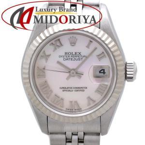 ロレックス ROLEX デイトジャスト 79174NR シェルローマン レディース 腕時計 /34975 【中古】|phasemidoriya78