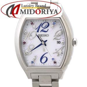 セイコー SEIKO ルキア ホワイト SSVW081 スワロフスキークリスタル入り レディース 腕時計 /35002 【中古】LUKIA|phasemidoriya78