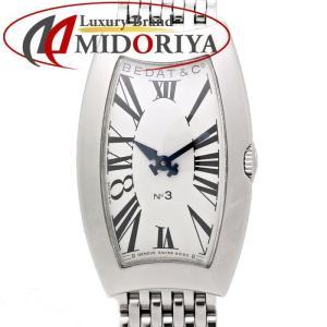 ベダ&カンパニー BEDAT&Co. 384.011.600 レディース NO.3 クォーツ /35083 【中古】 腕時計 phasemidoriya78