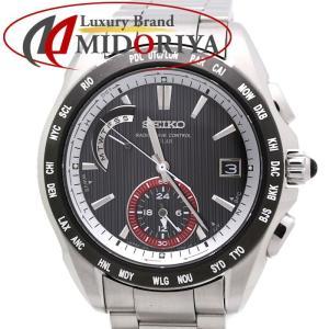 セイコー SEIKO ブライツ SAGA061 BRIGHTZ ソーラー電波時計 10周年記念限定モデル メンズ /35118 【中古】 腕時計|phasemidoriya78