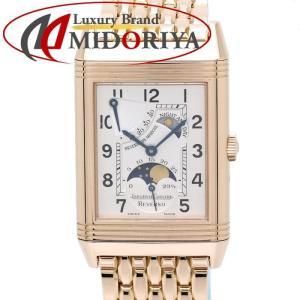 ジャガールクルト JAEGER LE-COULTRE K18RG レベルソ ナイト&デイ サンムーン パワーリザーブ 270.2.63 手巻き メンズ /35129 【中古】 腕時計|phasemidoriya78