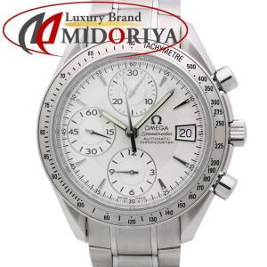 オメガ OMEGA 3211.30 スピードマスター デイト シルバー SS 自動巻き クロノグラフ メンズ /35133 【中古】 新型 腕時計|phasemidoriya78