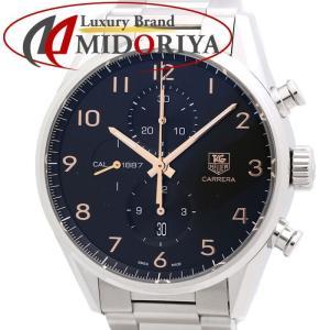 タグホイヤー TAG HEUER カレラ キャリバー1887 クロノグラフ CAR2014.BA0796 メンズ /35137 【中古】 腕時計|phasemidoriya78