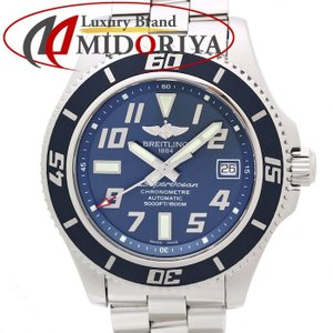 ブライトリング BREITLING スーパーオーシャン 42mm マリナーブルー A173643B/C868 限定 /35138 【中古】 腕時計|phasemidoriya78