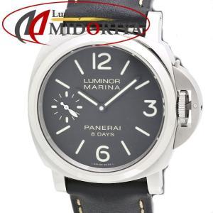 パネライ PANERAI ルミノール マリーナ 8デイズ PAM00510 メンズ 自動巻き /35139 【中古】 腕時計|phasemidoriya78