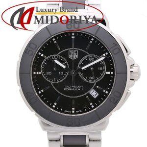タグホイヤー TAG HEUER フォーミュラ1 セラミック クロノグラフ CAH1210.BA0862 メンズ /35140 【中古】 腕時計|phasemidoriya78