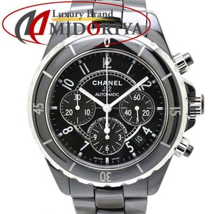 シャネル CHANEL J12 黒セラミック H0940 クロノグラフ 自動巻き メンズ /35151 【中古】 腕時計 phasemidoriya78