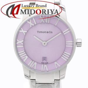 ティファニー Tiffany & Co.アトラス 2-ハンド 29mm モーブカラー レディース /35158 【未使用】 腕時計 phasemidoriya78