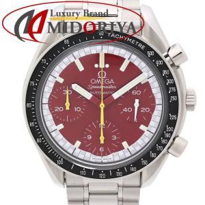 オメガ OMEGA オメガ スピードマスター レーシング ミハエルシューマッハ 3510.61 メンズ 自動巻き レッド文字盤 /35162 【中古】 腕時計|phasemidoriya78