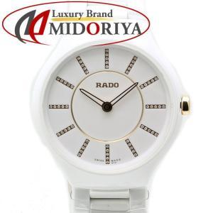 ラドー RADO True トゥルー シンライン Jubile ホワイト セラミック レディース R27958702 ダイヤ /35165 【未使用】 腕時計 phasemidoriya78