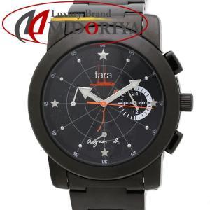 アニエスべー V654-0AG0 tara タラ リミテッドエディション ブラック ユニセックス 限定 /35176 【中古】 腕時計|phasemidoriya78