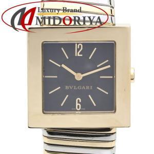 ブルガリ BVLGARI クアドラード YG/SSコンビ SQ292T ユニセックス クォーツ /35187 【中古】 【外装磨き仕上げ済み】腕時計|phasemidoriya78