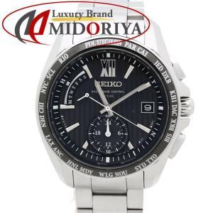 セイコー SEIKO ブライツ SAGA145 8B54-0AW0 ソーラー電波 メンズ /35304 【中古】 腕時計 phasemidoriya78