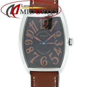 フランクミュラー FRANCK MULLER カサブランカ サハラ 2852CASA SAHARA ブラック文字盤 メンズ /35325 【中古】 腕時計|phasemidoriya78