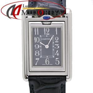 カルティエ Cartier タンク バスキュラント MM W1016730 ユニセックス /35380 【中古】 腕時計 ボーイズ|phasemidoriya78