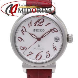 SEIKO LUKIA SSVM015 セイコー ルキア レディース シェル 自動巻き 赤 /35429 【中古】 腕時計 phasemidoriya78