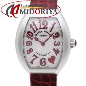 FRANCK MULLER フランクミュラー ハートトゥハート 5002 S QZ C5H J RED クォーツ レディース /35434 【中古】 腕時計|phasemidoriya78