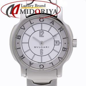 ブルガリ BVLGARI ソロテンポ ST29S SS 白文字盤 レディース /35471 【中古】 腕時計|phasemidoriya78
