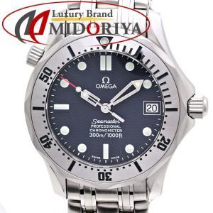 オメガ OMEGA シーマスター プロフェッショナル 300m ボーイズ オートマ 2552.80 ネイビーウェーブ /35537 【中古】腕時計|phasemidoriya78