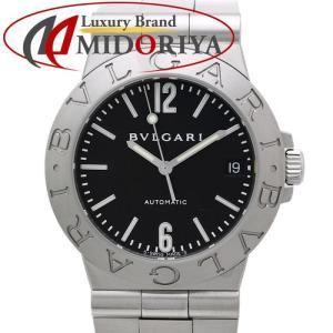 BVLGARI ブルガリ ディアゴノ スポーツ LCV35S 黒文字盤 自動巻き メンズ /35553 【中古】腕時計|phasemidoriya78