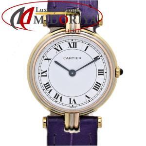 カルティエ Cartier 18Kスリーカラー ヴァンドーム レディース クォーツ /35554 【中古】腕時計|phasemidoriya78