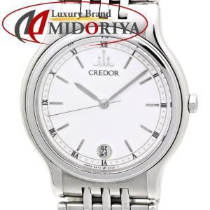 セイコー SEIKO CREDOR クレドール 9572-6000 SS メンズ クォーツ /35557 【中古】腕時計|phasemidoriya78