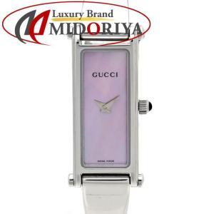 グッチ GUCCI 1500L YA015509 バングル ピンクシェル文字盤 レディース /35558 【中古】腕時計|phasemidoriya78